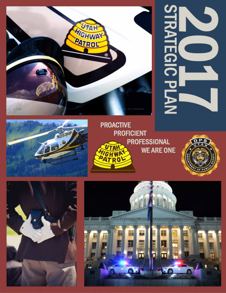 Screen shot of cover of UHP's 2017 Strategic plan