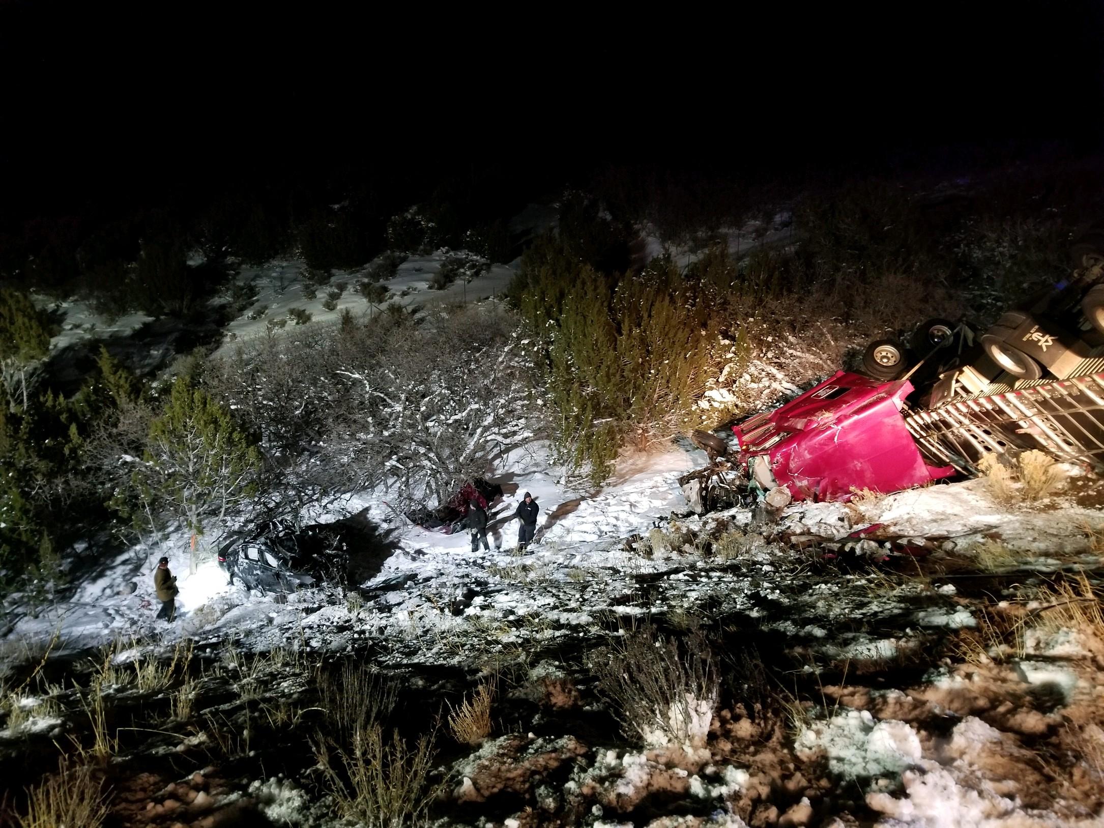 Fatal crash on I-15 north of Beaver | DPS News