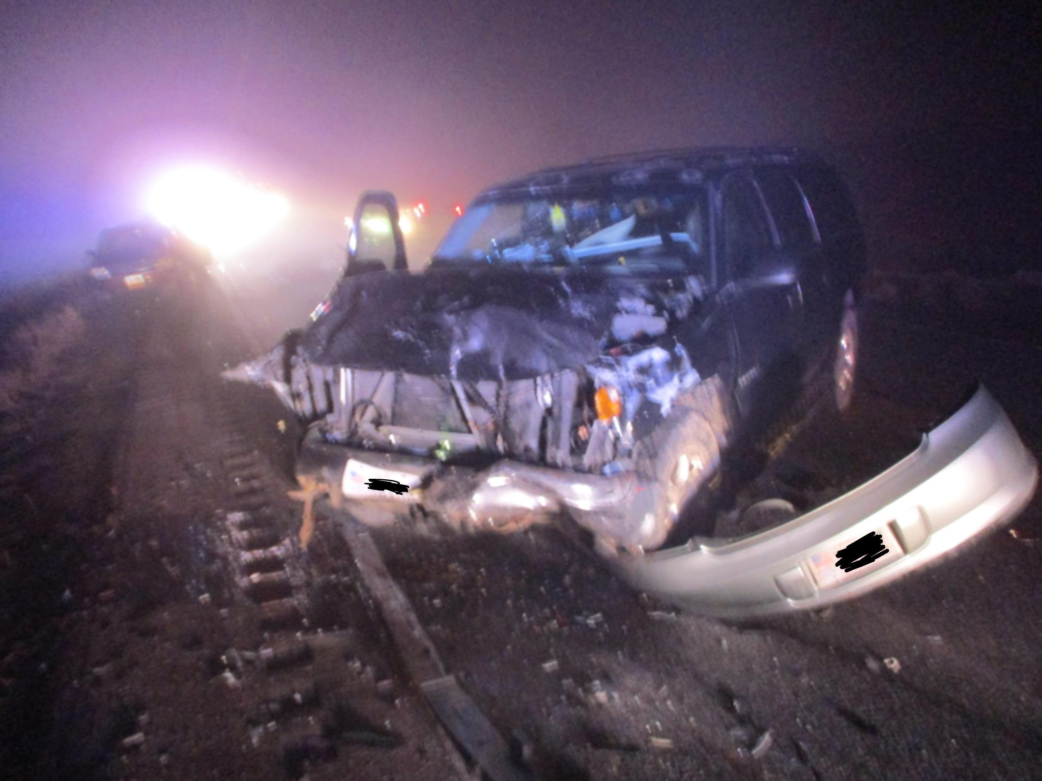 Fatal crash on U S  Hwy 40 at MM 131 (15 miles west of Vernal)   DPS